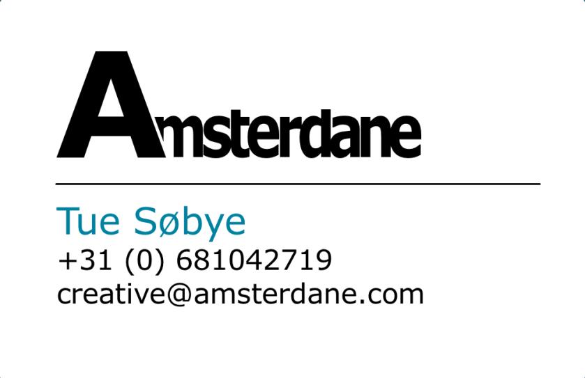 Amsterdane business card back
